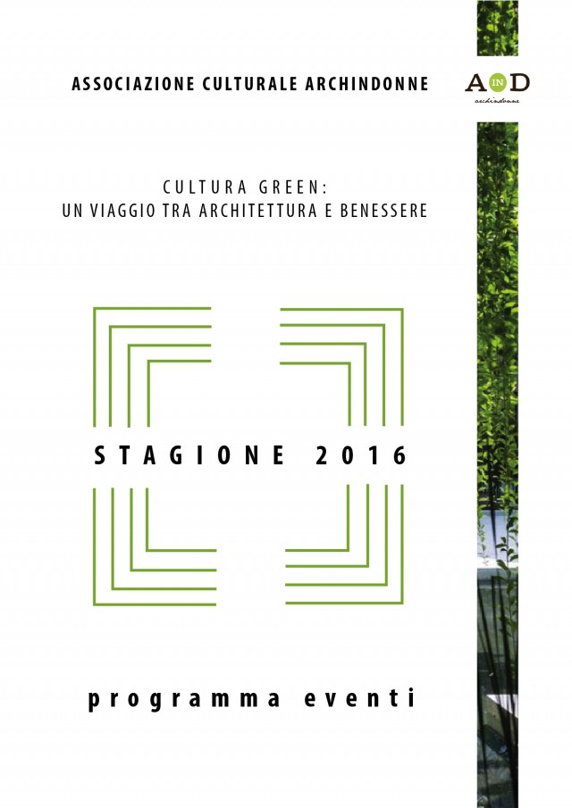 Brochure Eventi Archindonne 2016
